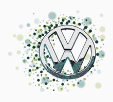 The Abstract Circular VW Badge 2  by jay007