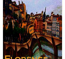 Florence, Italy in Abstract  by Ginny Luttrell