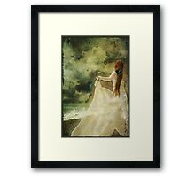 Girl with Dreams - Cover Framed Print
