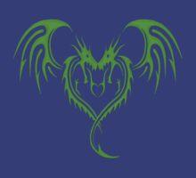 Corazon de Dragon Verde by david-soto-lema