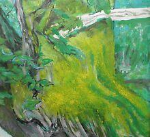 Tree Moss by John Fish