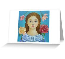Take Time To Smell The Roses Greeting Card