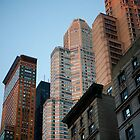 Manhattan Buildings by Charles Blier