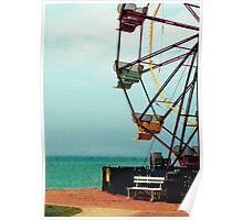 Geneva on the Lake Ferris Wheel  Poster