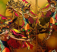 Dancers of the Window onto the world by Grant Wilson