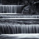 series of little cascades by Klaus Brandstaetter