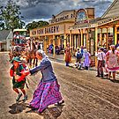 Crossing the street - Sovereignhill by Hans Kawitzki
