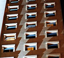 Apartment block, Lisbon, Portugal by Andrew Jones