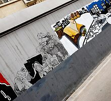 talkative wall by Patrick Monnier
