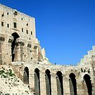 Citadel, Aleppo, Syria by Justine Chesterman