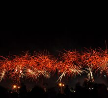 Australia Day Lottery West Skyworks, Perth WA by JVGMcGhie