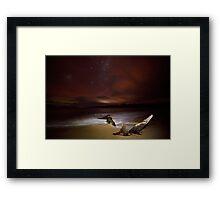 Randalls Bay at Night #3 Framed Print
