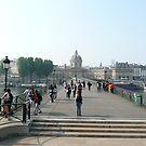 Pont Des Arts by Debbie Thatcher