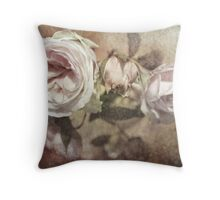 Last Rose of Summer Throw Pillow