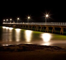 Glenelg Pier, South Australia by 16images