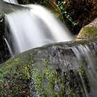 Dartmoor Waterfall by Kelly-Ann Gordon