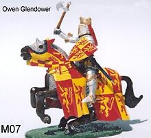Owen Glendower last king of Wales by JamesBryan
