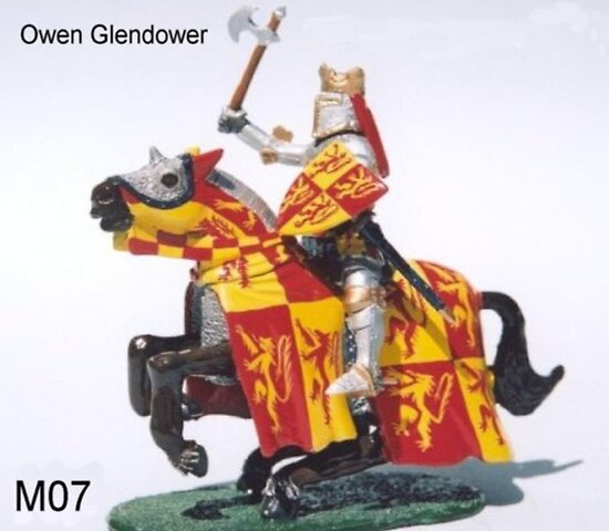 Owen Glendower last king of Wales by JamesBryan