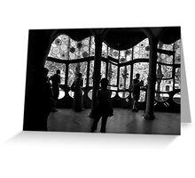 Gaudi Shadows Greeting Card
