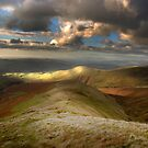 Sunrise over the Lake District from The Howgills by James Elkington