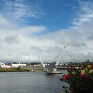 Peace Bridge, Derry by Agnes McGuinness