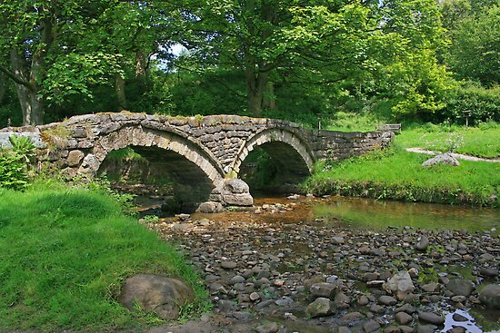 Pack Horse Bridge, Wycoller by RedHillDigital