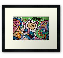 Bomberman Framed Print