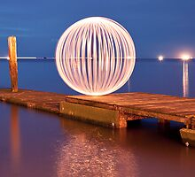 orange orb - ready for a dip by Julian Marshall