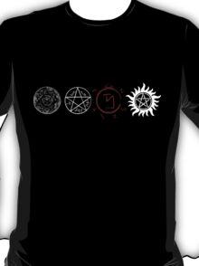 Supernatural Protection (Light Symbols) T-Shirt