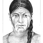 Borrado Indian Woman by Jorge Elias