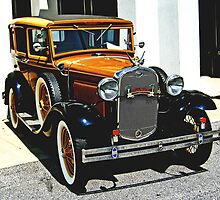 Model A FORD by Roger Jewell