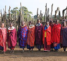 Maasai (Masai) Women of Kenya & Tanzania  by Carole-Anne