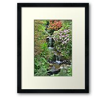 Compton Acres - Bournemouth Framed Print