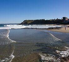 View To South Newcastle Beach by reflector