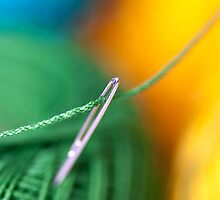 Needle & Cotton Thread by Mukesh Srivastava