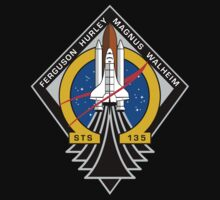 STS-135 Final Shuttle Mission Patch by TGIGreeny