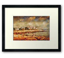 Cape Neddick Framed Print