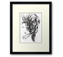 Your time is up! Framed Print