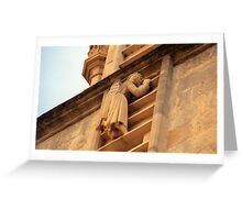 Angel on Ladder Greeting Card