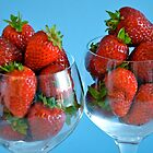 Strawberry Cocktails for Two... by Carol Clifford