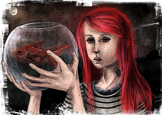 Fish Girl by Hannah Furrer