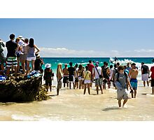 Snapper Rocks top surfing location Photographic Print