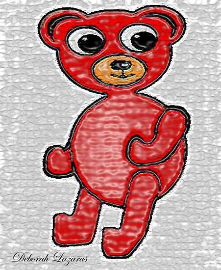 Cherry Beary by Deborah Lazarus