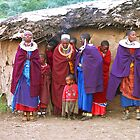 Maasai (Masai) Women &amp; Children of Kenya &amp; Tanzania by Carole-Anne
