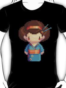 blue geisha T-Shirt