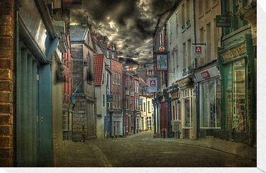 Dawn in Whitby  by Irene  Burdell