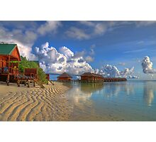 Meerufenfushi island Morning View Photographic Print