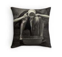 Flexibility #0102 Throw Pillow