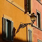 Street Light - Rome by Samantha Higgs