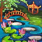 Waterlilies by Moonlight by Brita Lee